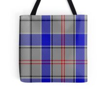 02898 Euphoria Fashion Tartan  Tote Bag