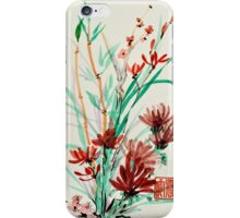 Flowers and Shoots iPhone Case/Skin