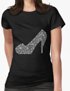 Abstract shoe made of oriental round elements T-Shirt