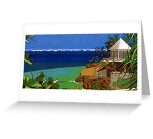 The Bungalo. Greeting Card