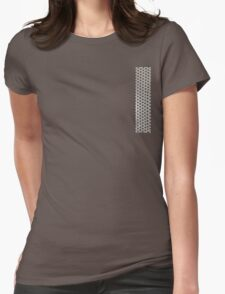 pushing out Womens Fitted T-Shirt