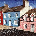 The blue house with dots..1998 by citywind