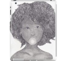 Girl with Gum iPad Case/Skin
