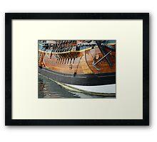 HMS Endeavour (replica)  Framed Print