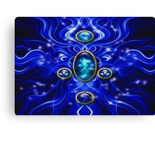 The Blue Water Spirit # 1 Canvas Print