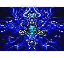 The Blue Water Spirit # 1 Photographic Print