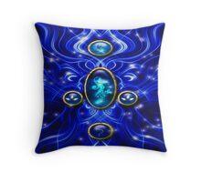 The Blue Water Spirit # 1 Throw Pillow