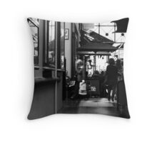 Cafe Duomo Throw Pillow