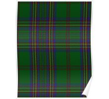 02896 Ettrick Forest District Tartan Poster