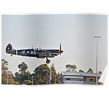 Spitfire, Wheels down Poster
