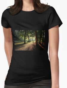 Conversation... Womens Fitted T-Shirt