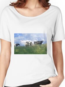 Cow Dreams Women's Relaxed Fit T-Shirt