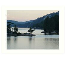 Lake Killarney, Killarney Provincial Park, Ontario Art Print