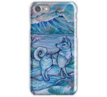 Husky In the Snow iPhone Case/Skin