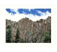 Sangre de Cristo mountains, New Mexico U.S.A. Art Print