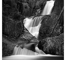 Smalls Falls in B&W by Patrick Downey