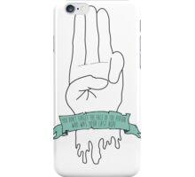District 12 Hand iPhone Case/Skin