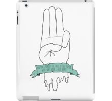 District 12 Hand iPad Case/Skin