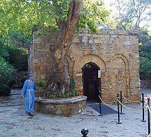 The House of The Virgin Mary near Ephesus, Turkey  by inglesina
