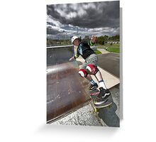 Rock to Fakie Greeting Card