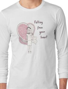 Falling from your Heart Long Sleeve T-Shirt