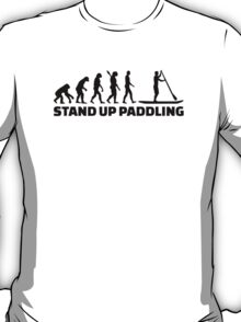 Evolution Stand up paddling T-Shirt