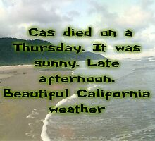 Cas died on a Thursday.  by QueenDobby
