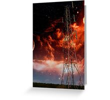 Pylon Doom Greeting Card