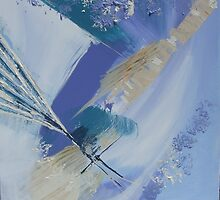 Abstract seascape No: 2 by Susan MacFarlane