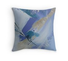 Abstract seascape No: 2 Throw Pillow