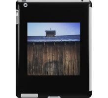 Rustic side of barn with tin roof iPad Case/Skin