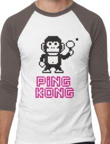 Ping Kong Men's Baseball ¾ T-Shirt