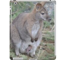 Wallaby and Joey iPad Case/Skin