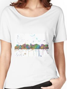 Madison, Wisconson Skyline Women's Relaxed Fit T-Shirt