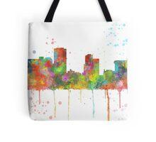Little Rock, Arkansas Skyline Tote Bag