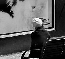Look behind you by Rhoufi