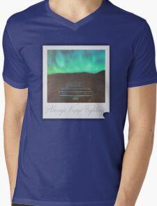 """Always Keep Fighting"" Tribute Mens V-Neck T-Shirt"