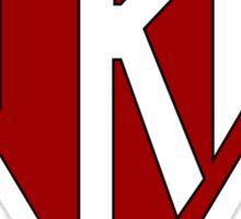 TKE: Triangle Logo Sticker