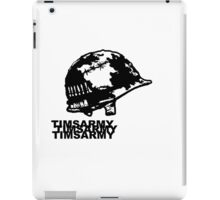 ARMY HELMET iPad Case/Skin