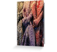 Foulard Greeting Card