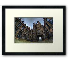 University Of Edinburgh (HDR) Framed Print