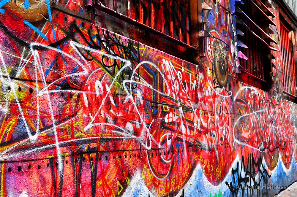 street art   melbourne by Anthony Hennessy