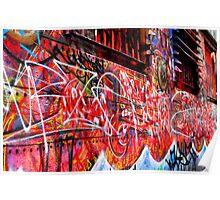street art | melbourne Poster