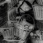 Old Vegetable Baskets by Karen Martin IPA