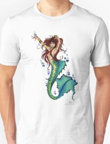 Mermaid Pin-up T-Shirt