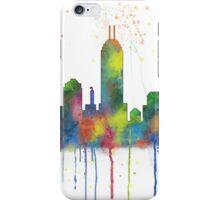 Indiana, Indianapolis Skyline iPhone Case/Skin