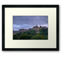 Scenery of Edinburgh (HDR) Framed Print