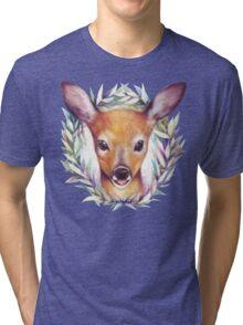 Oh deer baby Tri-blend T-Shirt