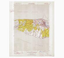 Massachusetts  USGS Historical Topo Map MA Nantucket 351948 1951 31680 Baby Tee