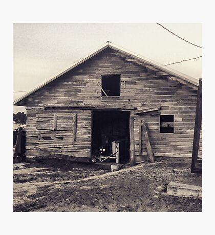 Rustic old barn  Photographic Print